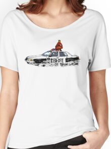 Beyonce Police Car Formation Women's Relaxed Fit T-Shirt
