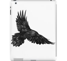 Raven in flight iPad Case/Skin