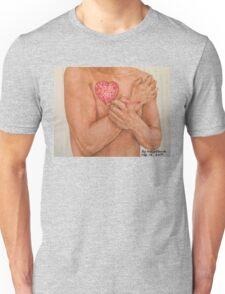 Embrace Love Drawing Unisex T-Shirt
