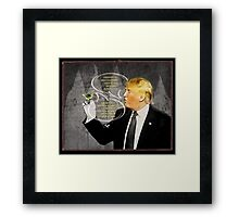 Chapter 10. Know-It- All Trump.  Framed Print