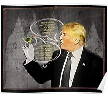 Chapter 10. Know-It- All Trump.  Poster
