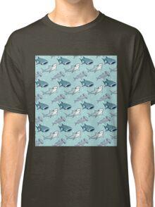 Shark Pattern Classic T-Shirt