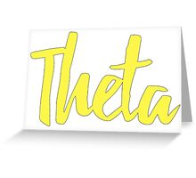 Kappa Alpha Theta Greeting Card