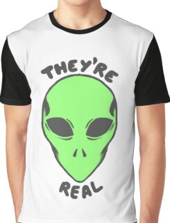 Aliens Are Real Graphic T-Shirt