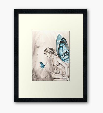 Whispering Wings Framed Print