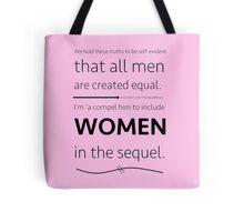 Include Women In the Sequel (Hamilton) Tote Bag