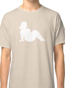 Trucker Mudflap Sexy Fat Girl Classic T-Shirt