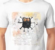 Cat da Vinci Unisex T-Shirt