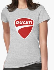 T-Shirt DUCATI Black Womens Fitted T-Shirt
