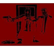 Dead Fiction - Black #1 Photographic Print