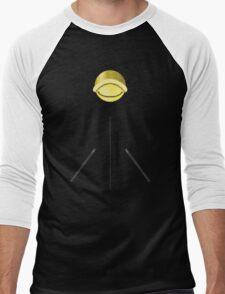 Chat Noir Shirt (Pattern 2) Men's Baseball ¾ T-Shirt