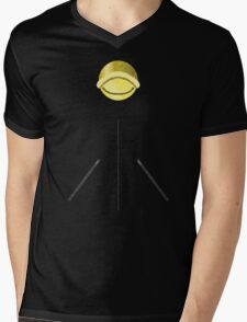 Chat Noir Shirt (Pattern 2) Mens V-Neck T-Shirt