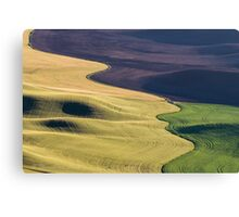 Palouse Canvas Canvas Print