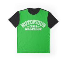 Conor McGregor College Design_01 Graphic T-Shirt