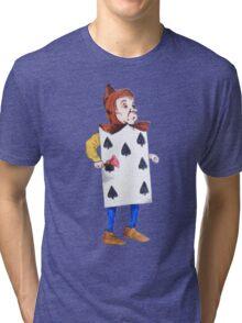 The 7 of Spades  Tri-blend T-Shirt