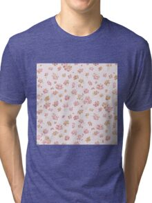 Roses, Roses (pink & yellow) Tri-blend T-Shirt
