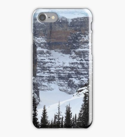 Ice, snow and rocks iPhone Case/Skin