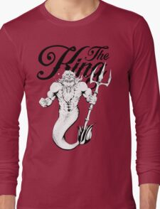 """The King"" Poseidon Long Sleeve T-Shirt"