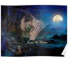 Outlander/Jamie & Claire Fraser Poster