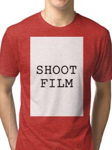 Shoot Film! Tri-blend T-Shirt