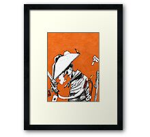 Volatile (Light version) Framed Print