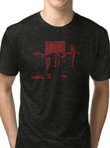Dead Fiction - Red #1 Tri-blend T-Shirt