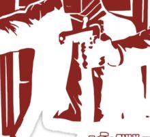 Dead Fiction - Red #2 Sticker