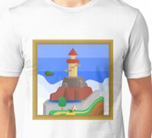 Whomp's Fortress, A Super Mario 64 Painting Unisex T-Shirt