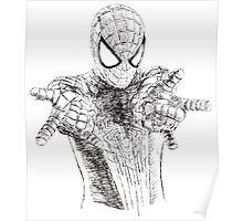 Spider-Man art Poster
