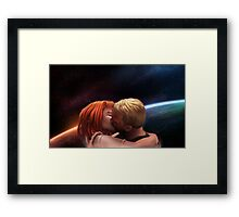 Leeloo & Korben Framed Print