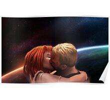 Leeloo & Korben Poster