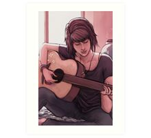 Life is Strange: Max Caulfield and Guitar Art Print