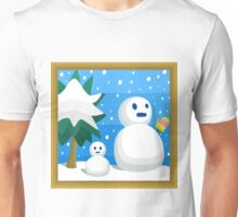Cool Cool Mountain, A Super Mario 64 Painting Unisex T-Shirt