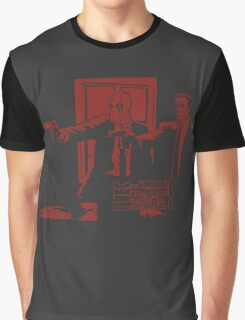 Dead Fiction - Red #3 Graphic T-Shirt
