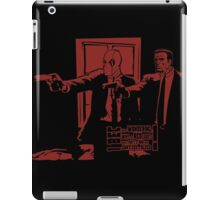 Dead Fiction - Red #3 iPad Case/Skin