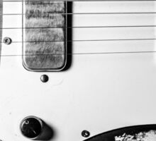 """Electric Blues"" - Vintage Guitar Sticker"