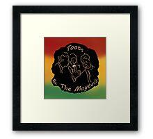 Singing Reggae - (Re-issued) Framed Print