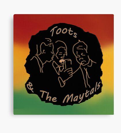Singing Reggae - (Re-issued) Canvas Print