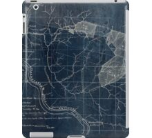204 Map showing location c of Middleton coal lands Fayette County W Va Inverted iPad Case/Skin