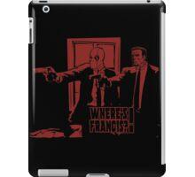 Dead Fiction - Red #4 iPad Case/Skin
