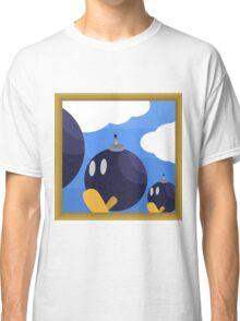 Bob-Bomb Battlefield, A Super Mario 64 Painting Classic T-Shirt