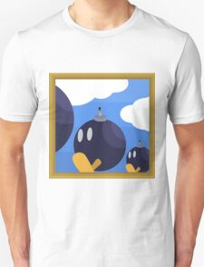 Bob-Bomb Battlefield, A Super Mario 64 Painting Unisex T-Shirt