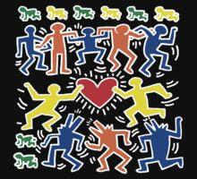 Keith Haring Love Dance Kids Tee