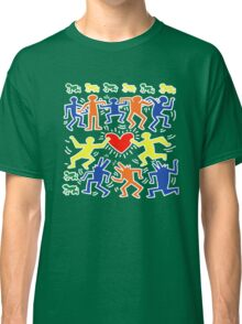 Keith Haring Love Dance Classic T-Shirt