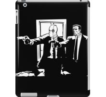 Dead Fiction - White #1 iPad Case/Skin