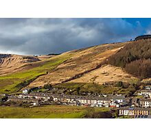 Cwmparc in the Rhondda Photographic Print