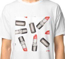 Red Lipstick  Classic T-Shirt