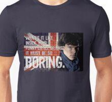 Sherlock Union Jack Quote Unisex T-Shirt