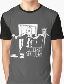 Dead Fiction - White #4 Graphic T-Shirt