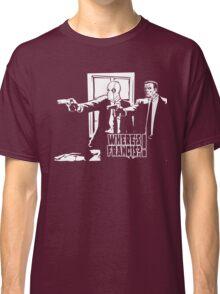 Dead Fiction - White #4 Classic T-Shirt